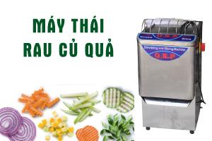 Máy thái rau củ quả QSP – Lựa chọn số 1 cho bếp ăn công nghiệp