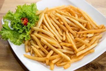Hướng dẫn chiên khoai tây bằng bếp chiên khoai tây ngon như KFC