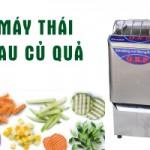 Máy thái rau củ quả QSP - Lựa chọn số 1 cho bếp ăn công nghiệp