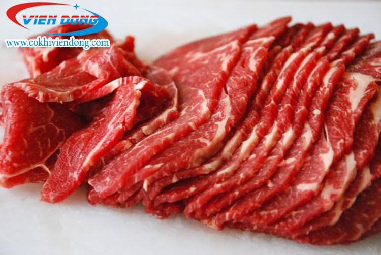 Máy thái thịt mini HO 07- thái thịt nhanh, mỏng mịn
