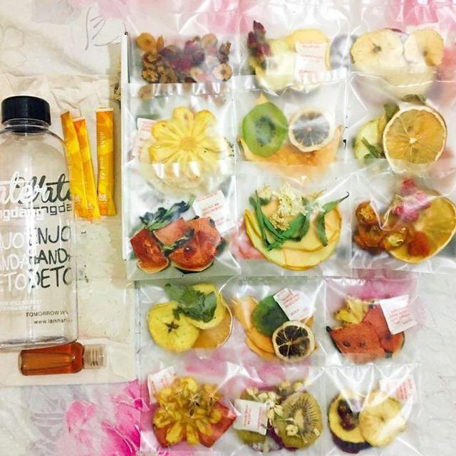 Detox hoa quả khô
