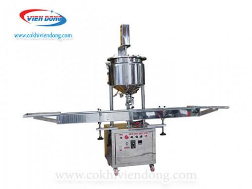 máy chiết rót 1 vòi có gia nhiệt+ nồi nấu cánh khuấy (7)