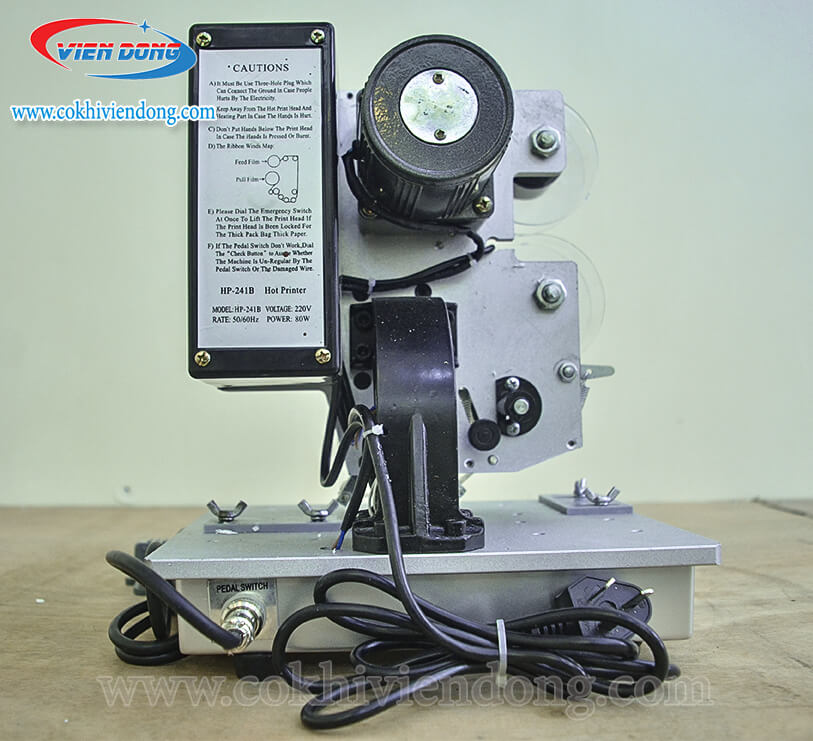 máy in date tự động HP 241