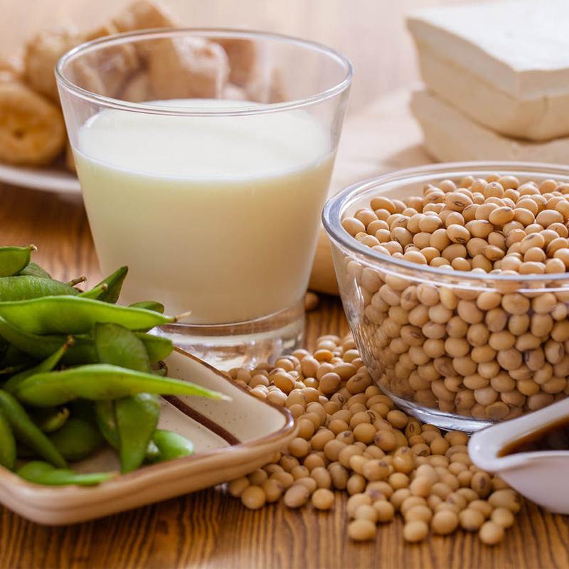 Nấu sữa đậu nành