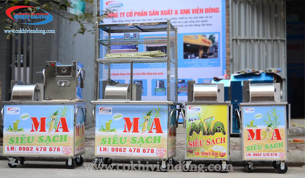 Giá thanh lý xe nước mía là bao nhiêu?