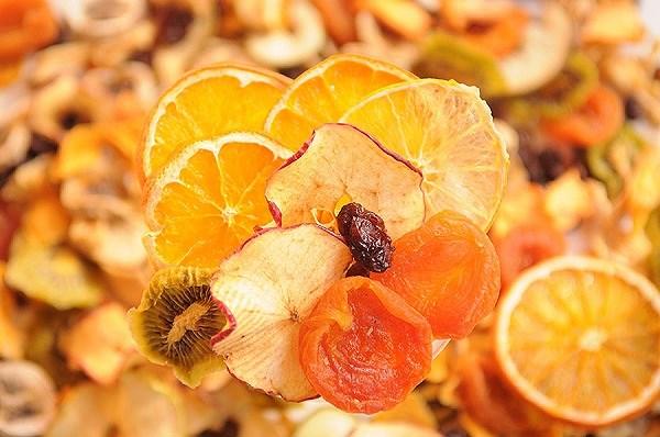Hoa quả sấy Detox