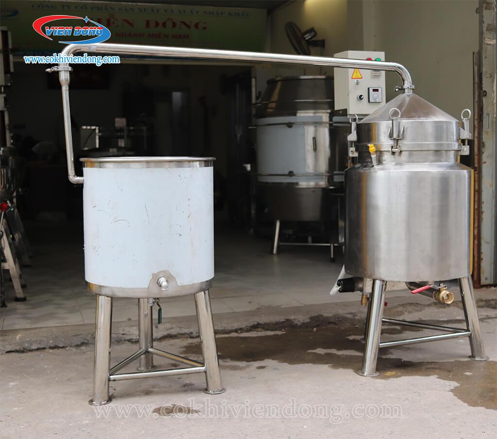 giá nồi nấu rượu bằng điện 10kg