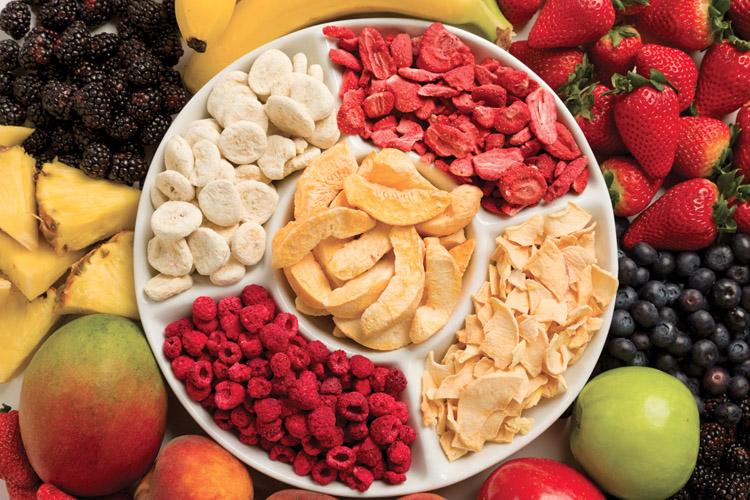 Tiềm năng kinh doanh hoa quả sấy khô